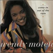 """Wendy Moten Come In Out Of The Rain UK 7"""" vinyl"""