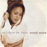 "Wendy Moten So Close To Love UK 7"" vinyl"