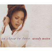 Wendy Moten So Close To Love UK CD single