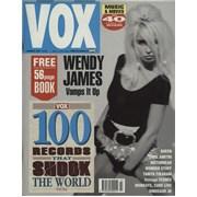 Wendy James Vox Issue #6 UK magazine