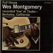 Wes Montgomery Full House USA vinyl LP