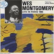 Wes Montgomery Live In Paris, 1965 France vinyl LP