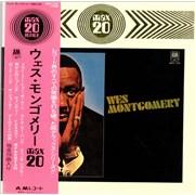 Wes Montgomery Max 20 Japan vinyl LP Promo