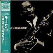 Wes Montgomery Moanin' Japan vinyl LP