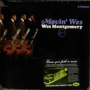 Wes Montgomery Movin' Wes - Sealed USA vinyl LP