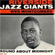 """Wes Montgomery Round About Midnight UK 7"""" vinyl"""
