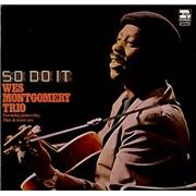 Wes Montgomery So Do It UK vinyl LP