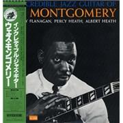 Wes Montgomery The Incredible Jazz Guitar Of Wes Montgomery Japan vinyl LP