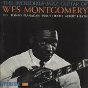 Wes Montgomery The Incredible Jazz Guitar Of Wes Montgomery USA vinyl LP