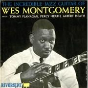 Wes Montgomery The Incredible Jazz Guitar Of Wes Montgomery - 1st UK vinyl LP