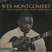 Wes Montgomery The Incredible Jazz Guitar Of Wes Montgomery - 2nd - VG UK vinyl LP