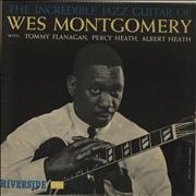 Wes Montgomery The Incredible Jazz Guitar Of Wes Montgomery - 2nd UK vinyl LP