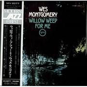 Wes Montgomery Willow Weep For Me Japan vinyl LP
