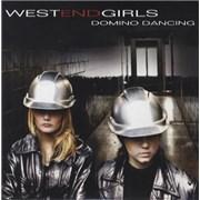 West End Girls Domino Dancing Sweden CD single