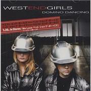 West End Girls Domino Dancing Japan CD-R acetate Promo