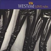 Click here for more info about 'West End - Love Rules'