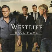 Click here for more info about 'Westlife - Back Home'