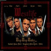 Westlife Bop Bop Baby UK CD single
