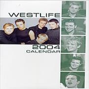 Westlife Calendar 2004 UK calendar