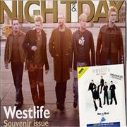 Click here for more info about 'Westlife - Coast To Coast - Mail On Sunday Preview CD'