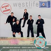 Westlife Coast To Coast - Up Close And Personal Singapore Video CD
