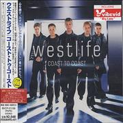 Westlife Coast To Coast Japan CD album