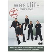 Westlife Coast To Coast UK DVD