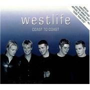 Westlife Coast To Coast Hong Kong 2-CD album set