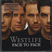 Click here for more info about 'Westlife - Face To Face'