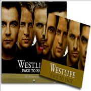 Westlife Face To Face Korea CD album