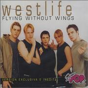 Westlife Flying Without Wings Argentina CD single Promo