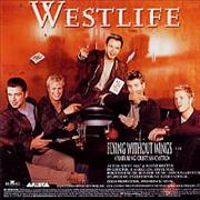 Westlife Flying Without Wings Mexico CD single Promo