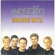 Westlife Golden Hits Hong Kong CD album