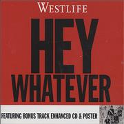 Westlife Hey Whatever UK CD single