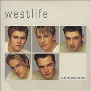 Westlife I Lay My Love On You Europe CD single