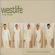 Westlife If I Let You Go Europe CD single