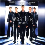 Westlife My Love UK CD single
