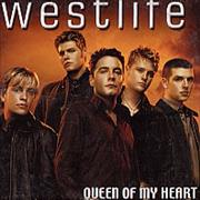 Westlife Queen Of My Heart Mexico CD single Promo