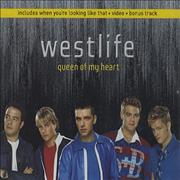 Westlife Queen Of My Heart UK CD single