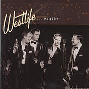 Westlife Smile UK CD single Promo