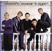 Westlife Swear It Again USA CD single Promo