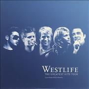 Westlife The Greatest Hits Tour UK CD single Promo