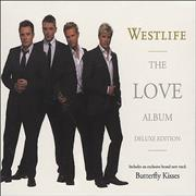 Westlife The Love Album Hong Kong 2-CD album set