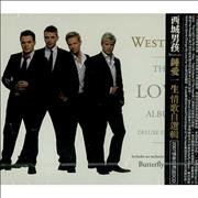 Westlife The Love Album Taiwan 2-CD album set