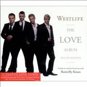 Westlife The Love Album Singapore 2-CD album set
