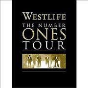 Westlife The Number Ones Tour UK DVD