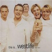 Westlife This Is... Westlife Vol. 1 No. 1 UK CD album Promo