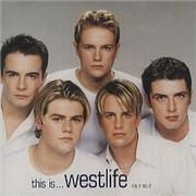 Westlife This Is... Westlife Vol. 1 No. 2 UK CD album Promo