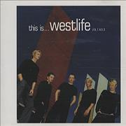 Westlife This Is... Westlife Vol. 1 No. 3 UK CD album Promo