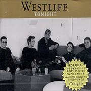Westlife Tonight Korea CD single